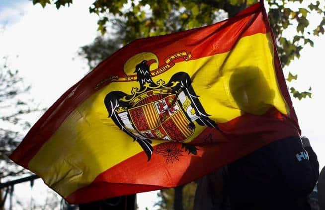 bandera franquista de españa