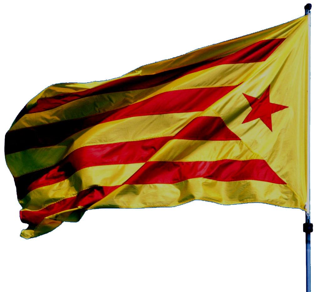 bandera independentista catalana