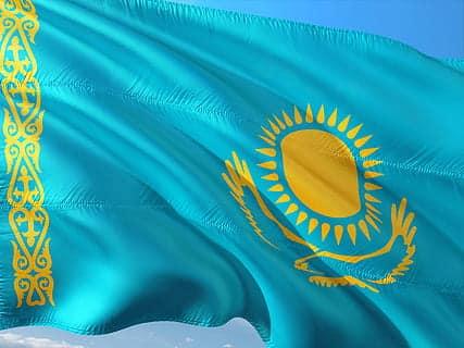 bandera kazajstan