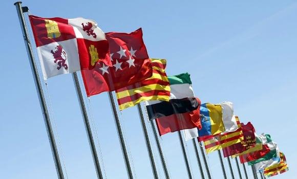banderas comunidades autonomas