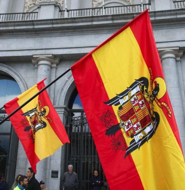 banderas franquistas
