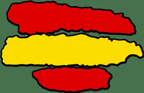 diseño bandera españa png