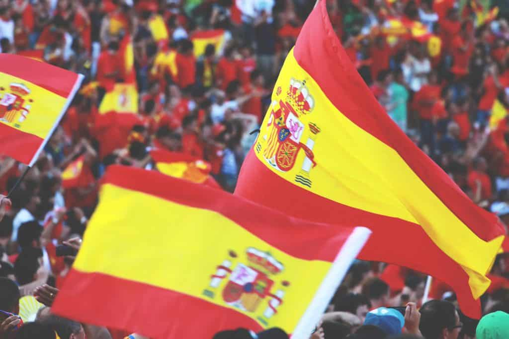 futbol bandera españa