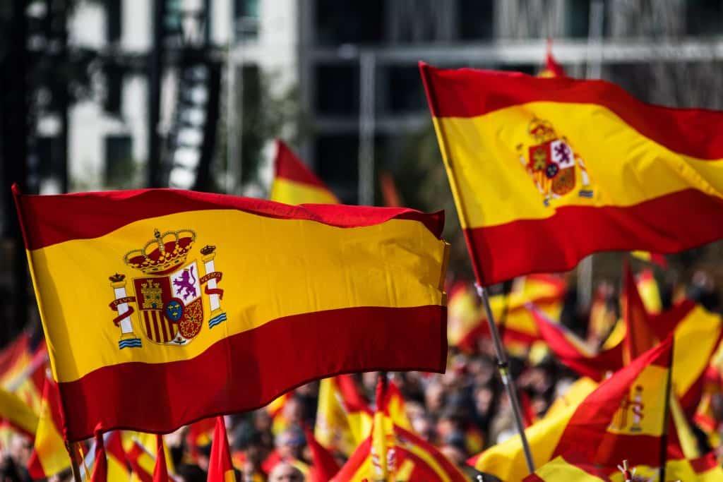 foto bandera de españa