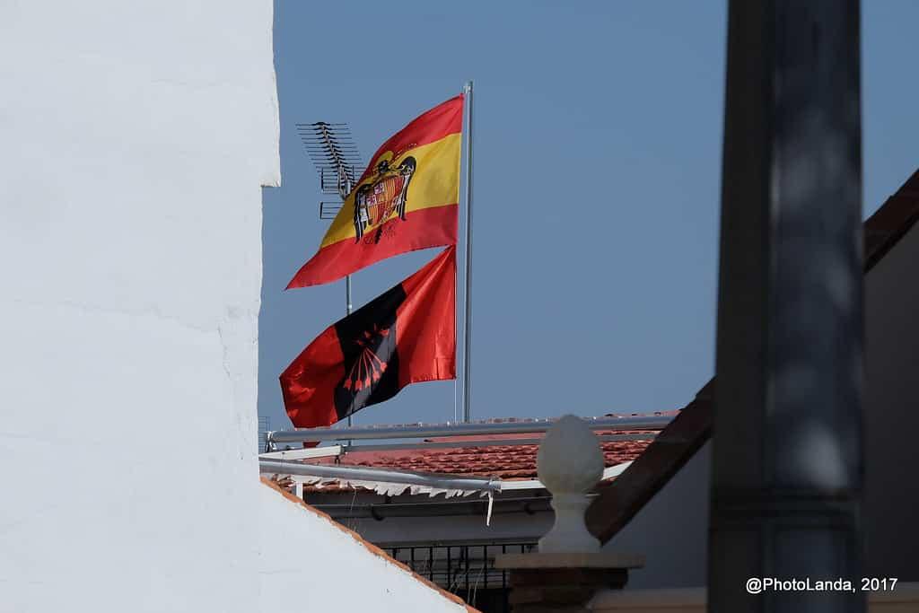 foto bandera españa aguila