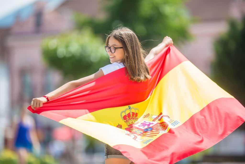 foto bandera españa para descargar