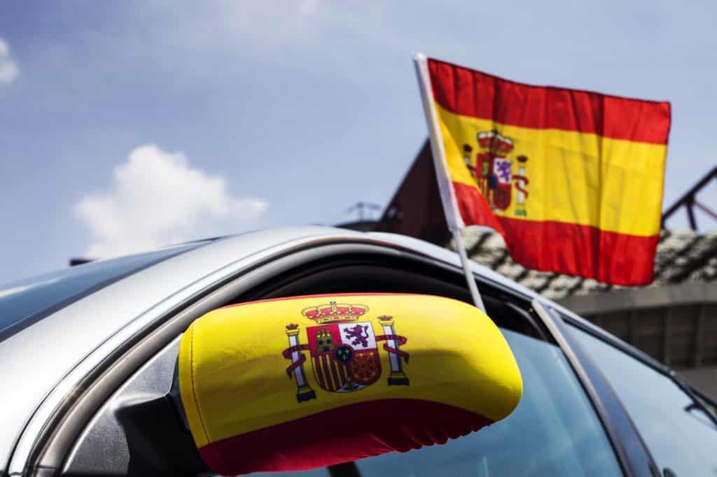 foto banderin españa