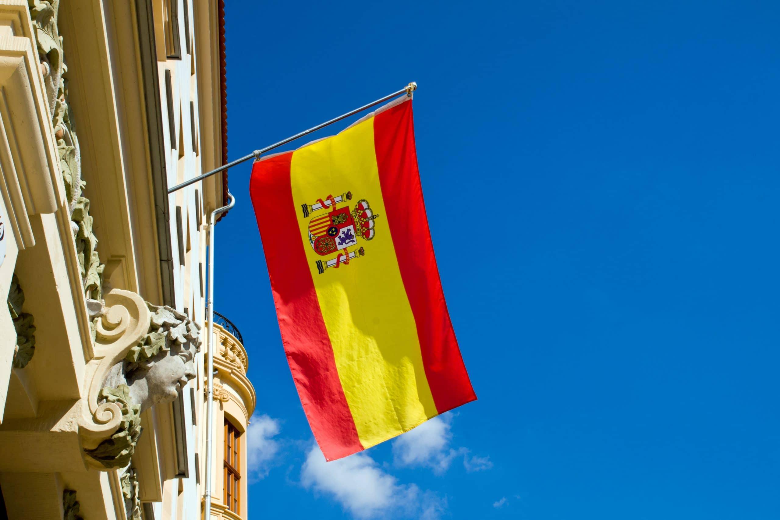 fotos bandera españa