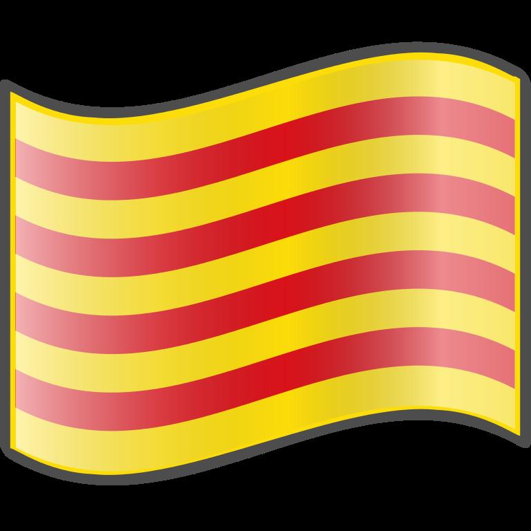 icono emoji bandera cataluña
