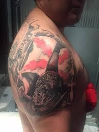 tatuaje cruz san andres