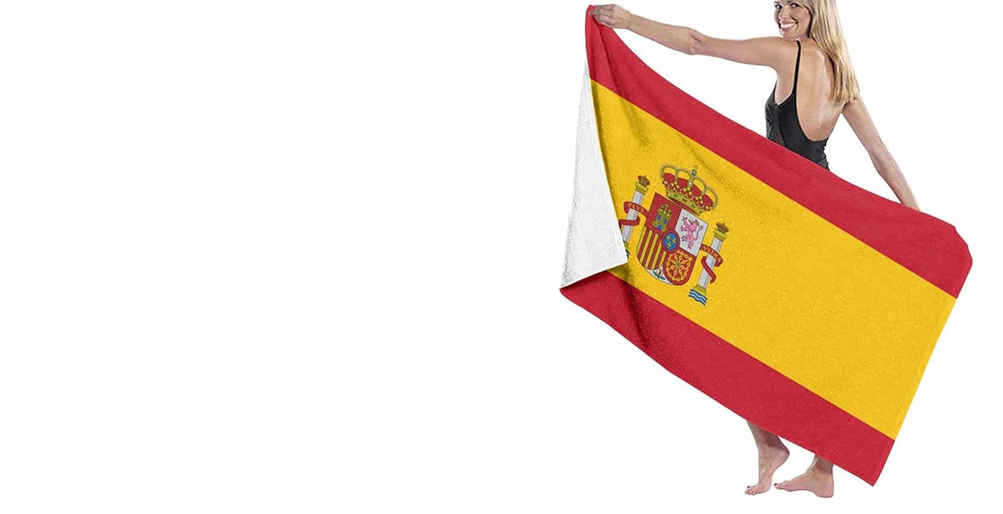toallas bandera españa
