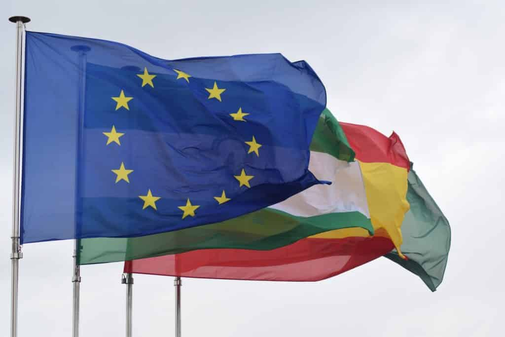 union europea bandera andalucia