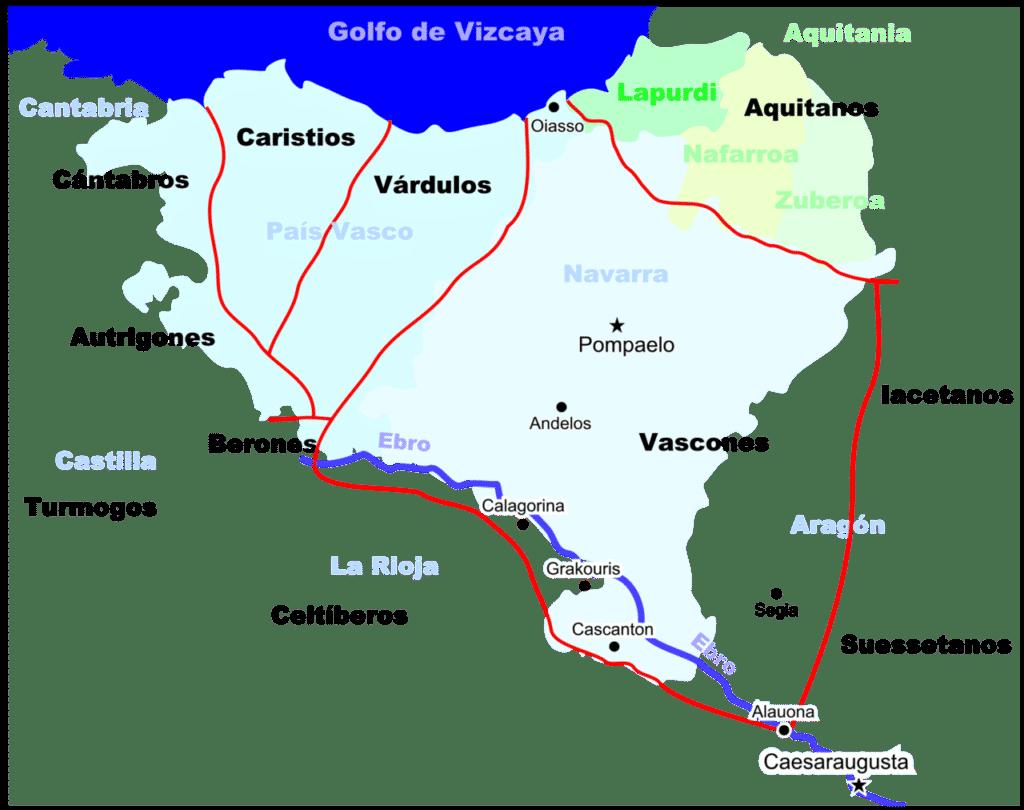 territorio de los vascones