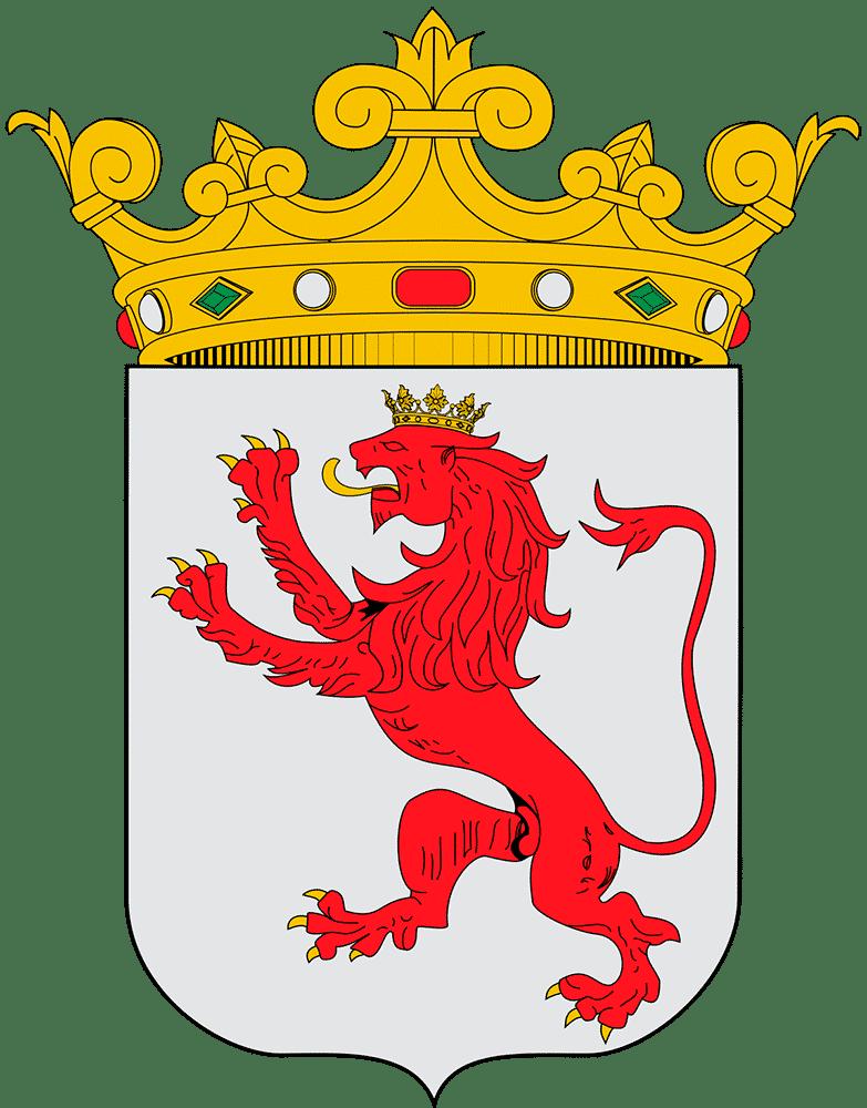 escudo de leon