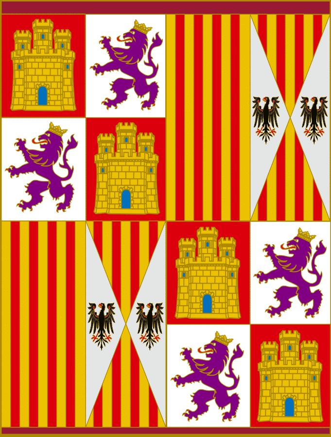 pendon heraldico reyes catolicos